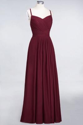 Sexy A-line Flowy Spaghetti-Straps Sweetheart Sleeveless Floor-Length Bridesmaid Dress UK UK with Ruffles_3