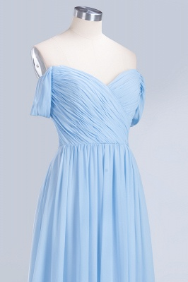 Sexy A-line Flowy Straps Sweetheart Sleeveless Floor-Length Bridesmaid Dress UK UK with Ruffles_5