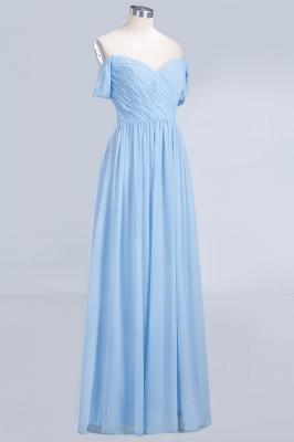 Sexy A-line Flowy Straps Sweetheart Sleeveless Floor-Length Bridesmaid Dress UK UK with Ruffles_3