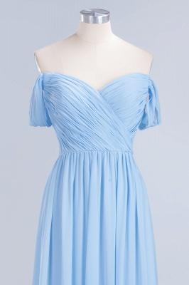 Sexy A-line Flowy Straps Sweetheart Sleeveless Floor-Length Bridesmaid Dress UK UK with Ruffles_4