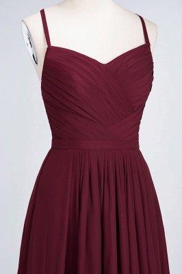 Sexy A-line Flowy Spaghetti-Straps Sweetheart Sleeveless Floor-Length Bridesmaid Dress UK UK with Ruffles_4
