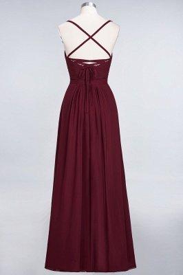 Sexy A-line Flowy Spaghetti-Straps Sweetheart Sleeveless Floor-Length Bridesmaid Dress UK UK with Ruffles_2