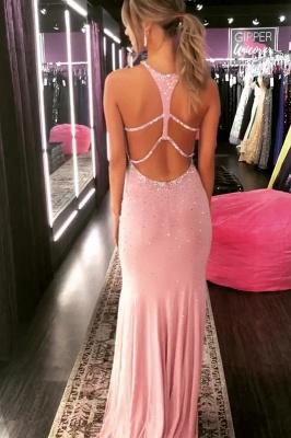 Timeless Elegant Mermaid Halter Long Prom Dress UKes UK UK with Crystal_2