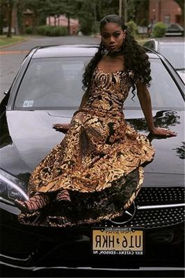 Glamourous Column Off The Shoulder Gold Applique Prom Dress UKes UK UK_4