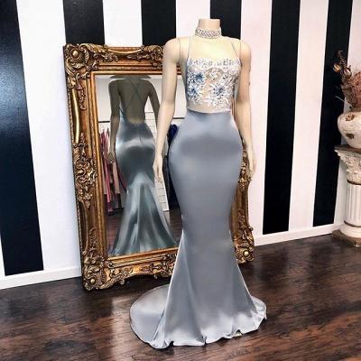 Elegant Sequins Sleeveless Elegant Trumpt Prom Dress UKes UK UK | Shining Halter Red Evening Dress UKes UK_2