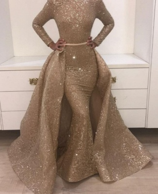 Sequin Prom Dress UKes UK UK with Train | Shining Evening Gowns with Sash_3
