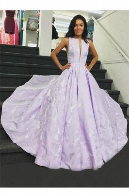 Sexy Lace Jewel Prom Dress UKes UK Ruffles Keyhole Sleeveless Evening Dress UKes UK_1