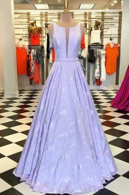 Sexy Lace Jewel Prom Dress UKes UK Ruffles Keyhole Sleeveless Evening Dress UKes UK_2