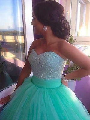 Dark-Green Open Back Prom Dress UKes UK Sleeveless Beads Elegant Evening Dress UKes UK_3