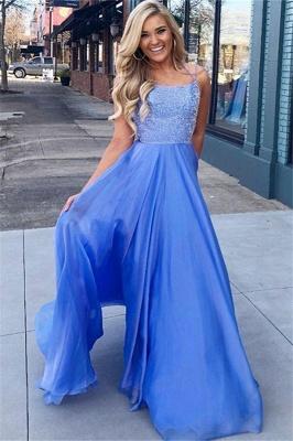 Sexy Blue Sequins Halter Prom Dress UKes UK Sleeveless Sexy Elegant Evening Dress UKes UK_1