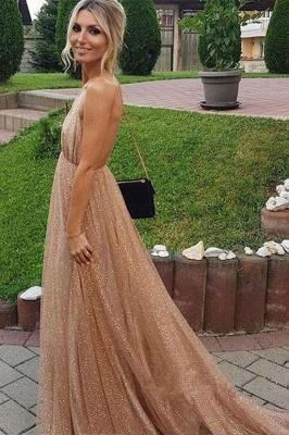 Squins Spaghetti-Strap Prom Dress UKes UK Backless Sleeveless Evening Dress UKes UK_3