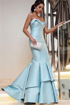Sequin Ruffle Sweetheart Prom Dress UKes UK Sexy Mermaid Sleeveless Evening Dress UKes UK_2