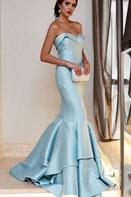 Sequin Ruffle Sweetheart Prom Dress UKes UK Sexy Mermaid Sleeveless Evening Dress UKes UK_1