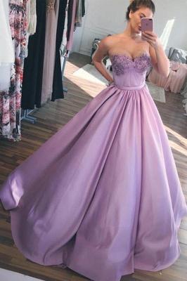 Sexy Sweetheart Lace Appliques Prom Dress UKes UK Sexy Ribbon Sleeveless Evening Dress UKes UK_3