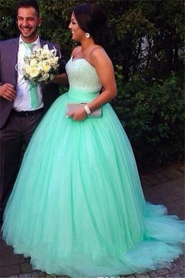 Dark-Green Open Back Prom Dress UKes UK Sleeveless Beads Elegant Evening Dress UKes UK_2