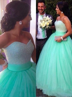 Dark-Green Open Back Prom Dress UKes UK Sleeveless Beads Elegant Evening Dress UKes UK_5