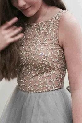 Sexy Lace Appliques Jewel Prom Dress UKes UK Sheer Sleeveless Evening Dress UKes UK_1