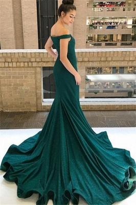 Sexy One-shoulder Applique Prom Dress UKes UK Long Sleeves Side Slit Elegant Evening Dress UKes UK with Sash_4