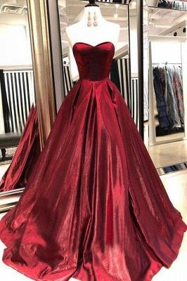 Thick Stain Sweetheart Prom Dress UKes UK Ruffle Sexy Sleeveless Evening Dress UKes UK_2