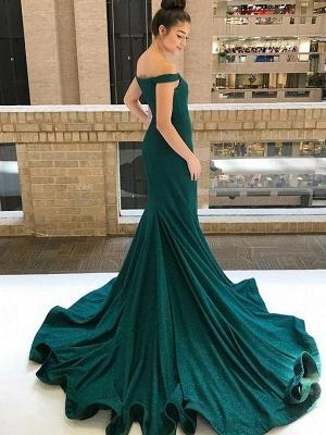 Sexy One-shoulder Applique Prom Dress UKes UK Long Sleeves Side Slit Elegant Evening Dress UKes UK with Sash_3