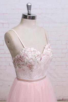 Sexy Lace Appliques Spaghetti-Strap  Prom Dress UKes UK Sheer Backless Bowknot Sleeveless Evening Dress UKes UK_2