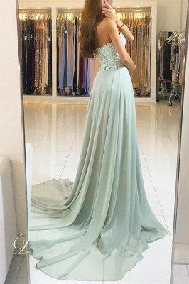Sexy Lace Appliques Sweetheart Prom Dress UKes UK Ribbons Sleeveless Evening Dress UKes UK_2