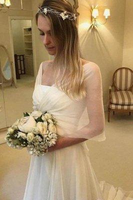 Elegant Applique Tiered Elegant Wedding Dresses UK Sheer Cheap Longsleeves Backless Floral Bridal Gowns_3