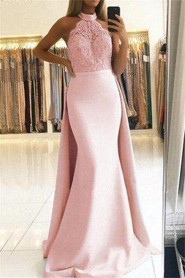 Sexy Lace Over Skirt Halter Prom Dress UKes UK Mermaid Sexy Sleeveless Elegant Evening Dress UKes UK_2