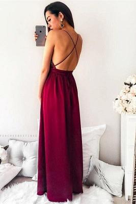 Sequins Lace Appliques Halter Prom Dress UKes UK Side slit Mermaid Sleeveless Evening Dress UKes UK_3