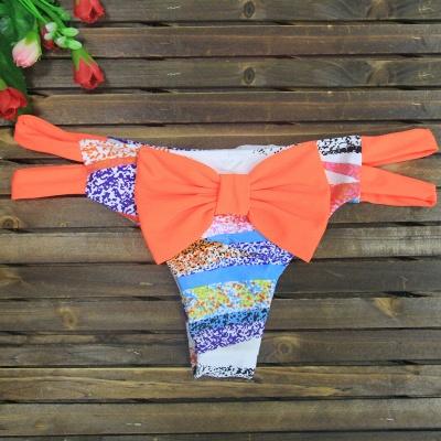 Bowknot Swims Brief Sexy Bikini Bottom_5