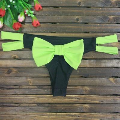 Bowknot Swims Brief Sexy Bikini Bottom_10