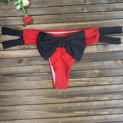 Bowknot Swims Brief Sexy Bikini Bottom_3