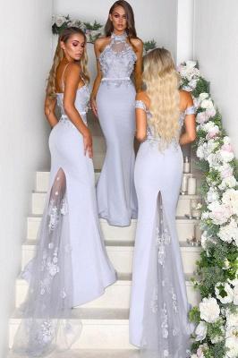 Multi-Style 2019 Bridesmaid Dress UK | Mermaid Lace Maid of Honor Dress UK On Sale_2