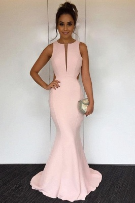 Newest V-neck Sleeveless Mermaid Prom Dress UK | Sexy Prom Dress UK_2