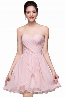 Luxury Sweetheart Short Homecoming Dress UK Chiffon_1