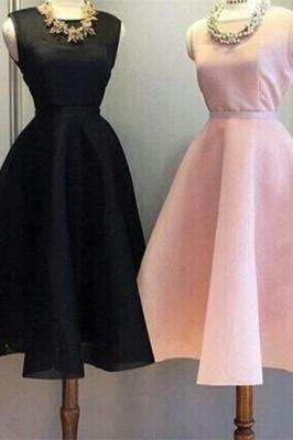 Newest Short Mini Homecoming Dress UK Sleeveless Jewel BA5096_1