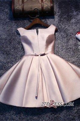 Sexy Short Lace-up Sleeveless Homecoming Dress UK_2