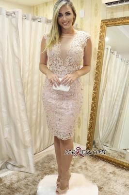 Lace tight short prom Dress UK, homecoming Dress UK_2