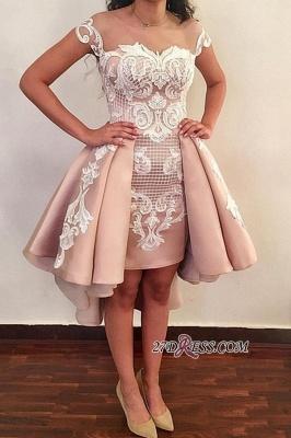 Lace ruffles short prom Dress UK, homecoming Dress UK online BA8007_1