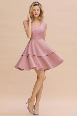 Cheap Homecoming Dresses with Ruffles Skirt | Sexy Short Evening Dresses UK_13
