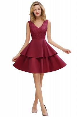 Cheap Homecoming Dresses with Ruffles Skirt | Sexy Short Evening Dresses UK_2