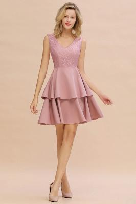 Cheap Homecoming Dresses with Ruffles Skirt | Sexy Short Evening Dresses UK_14