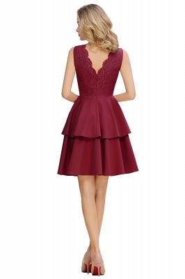 Cheap Homecoming Dresses with Ruffles Skirt | Sexy Short Evening Dresses UK_12