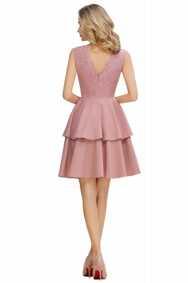 Cheap Homecoming Dresses with Ruffles Skirt | Sexy Short Evening Dresses UK_9