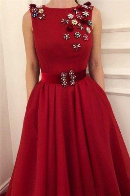New Arrival Ruby Prom Dress Cheap Online| Stylish Sleeveless Elegant  Evening Dress UK with Sash_2