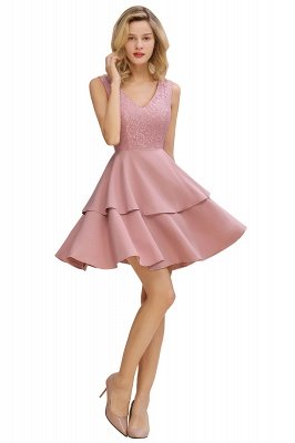 Cheap Homecoming Dresses with Ruffles Skirt | Sexy Short Evening Dresses UK_8