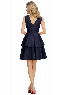 Cheap Homecoming Dresses with Ruffles Skirt | Sexy Short Evening Dresses UK_6