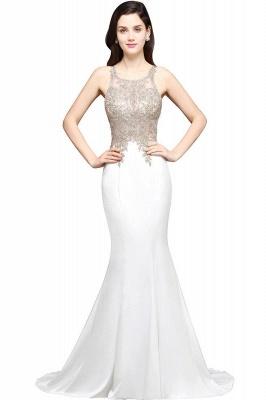 AVERIE | Mermaid Scoop Chiffon Elegant Prom Dress With Appliques_1