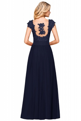 Sleeveless Lace Appliques Chiffon A-line Prom Gowns_26