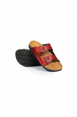 Unisex EVA Sandals Adjustable Double Buckle Flat Sandals for Women Men  Non-Slip_6